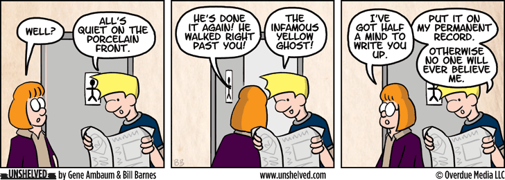 Unshelved comic strip for 1/28/2015