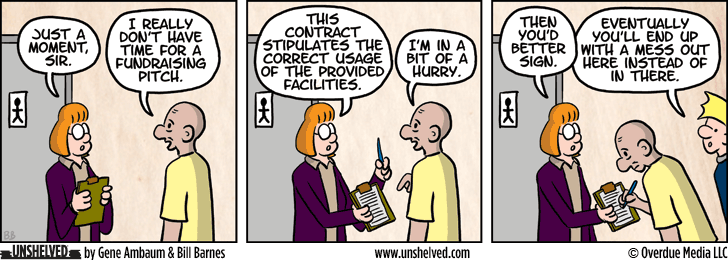 Unshelved strip for 1/29/2015