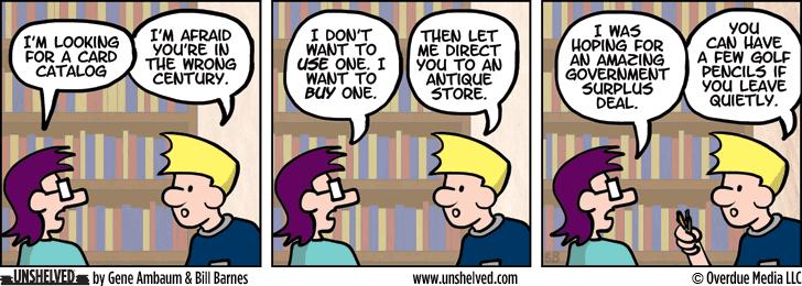Unshelved comic strip for 2/2/2015