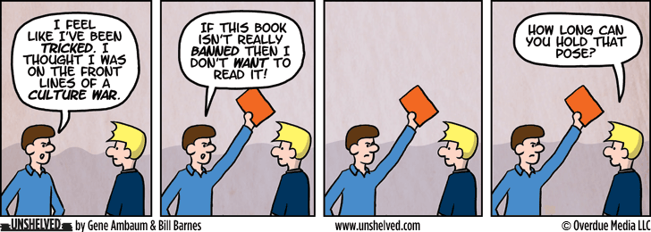 Unshelved comic strip for 2/11/2015