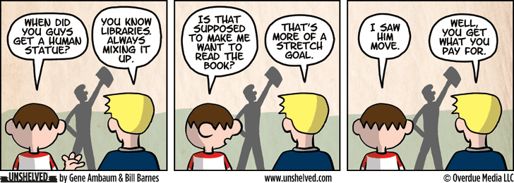 Unshelved comic strip for 2/12/2015
