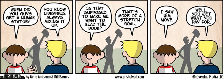 Unshelved comic strip for 2/12/2015
