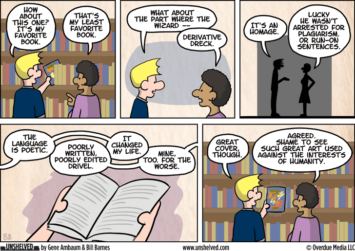 Unshelved comic strip for 2/16/2015