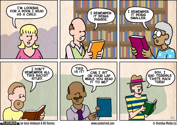 Unshelved comic strip for 2/18/2015