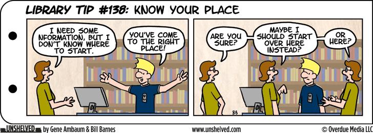 Unshelved comic strip for 2/19/2015