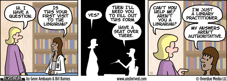 Unshelved comic strip for 2/23/2015