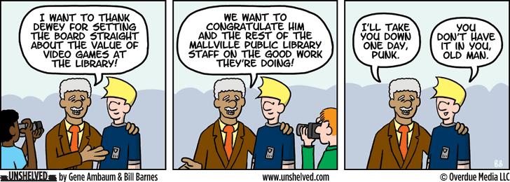Unshelved comic strip for 3/5/2015
