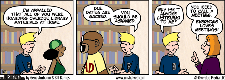 Unshelved comic strip for 3/18/2015