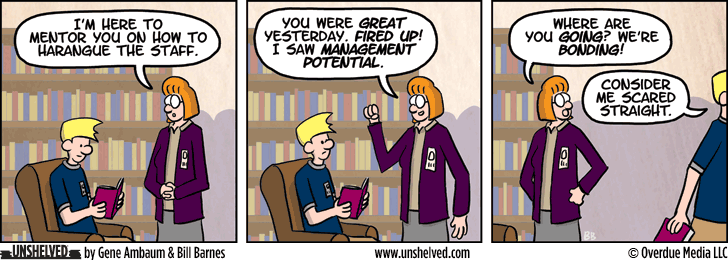 Unshelved comic strip for 3/19/2015