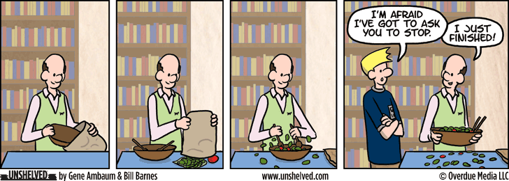 Unshelved comic strip for 3/23/2015