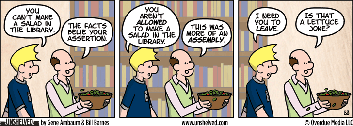 Unshelved comic strip for 3/24/2015
