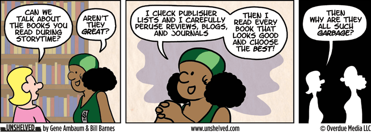 Unshelved strip for 3/30/2015