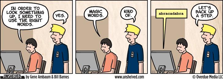 Unshelved comic strip for 4/29/2015