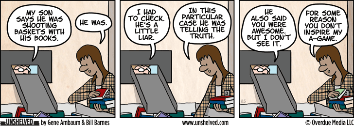 Unshelved comic strip for 5/5/2015