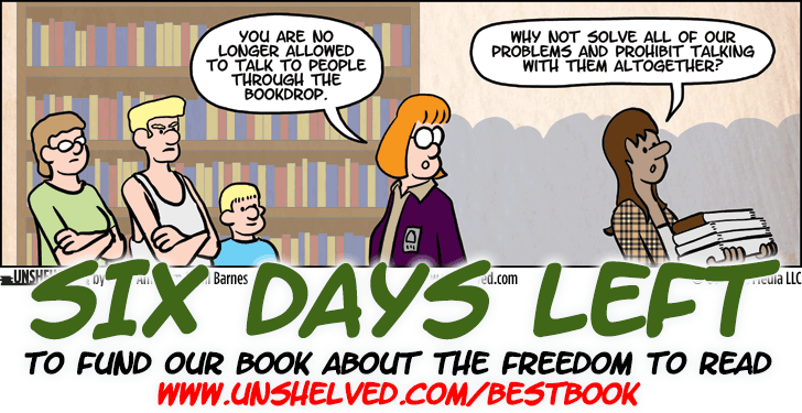 Unshelved comic strip for 5/7/2015