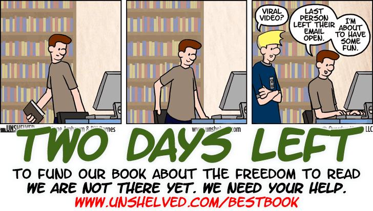 Unshelved comic strip for 5/11/2015