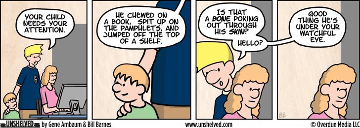Unshelved comic strip for 5/18/2015