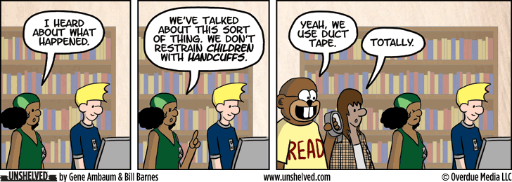 Unshelved strip for 5/21/2015