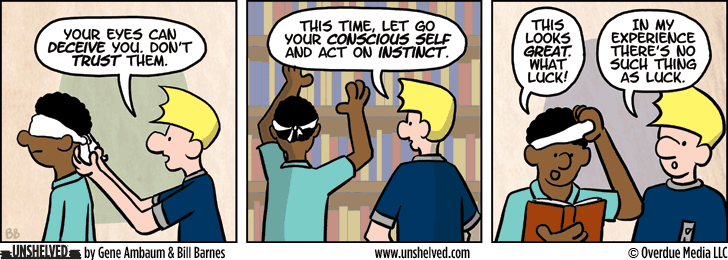 Unshelved comic strip for 6/3/2015