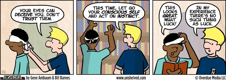 Unshelved comic strip for 6/3/2015