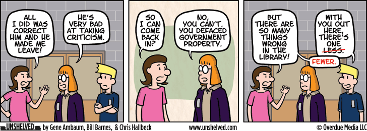 Unshelved comic strip for 6/9/2015
