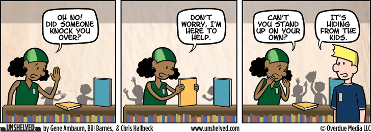 Unshelved comic strip for 6/15/2015
