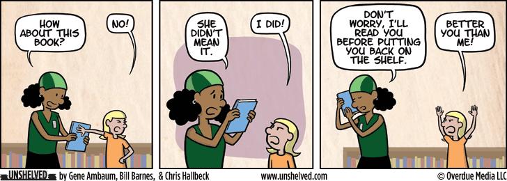 Unshelved comic strip for 6/16/2015