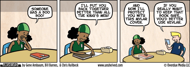 Unshelved comic strip for 6/17/2015