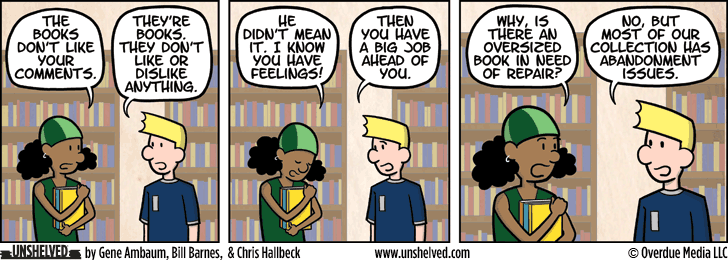 Unshelved comic strip for 6/18/2015