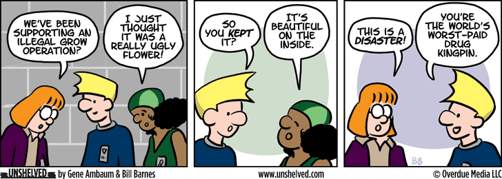 Unshelved comic strip for 6/23/2015