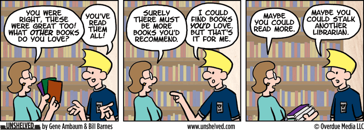 Unshelved strip for 6/29/2015