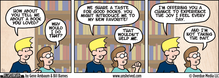 Unshelved comic strip for 7/1/2015