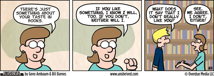 Unshelved comic strip for 7/2/2015