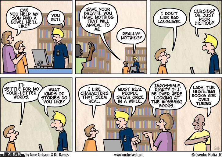Unshelved comic strip for 7/6/2015