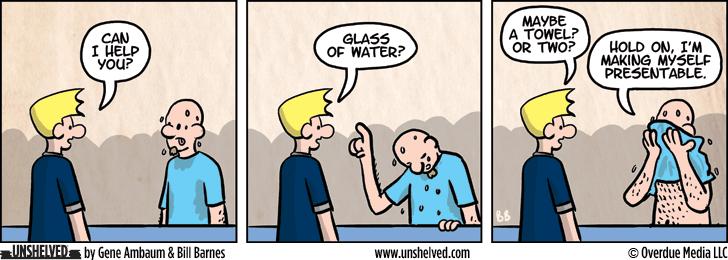 Unshelved comic strip for 7/27/2015