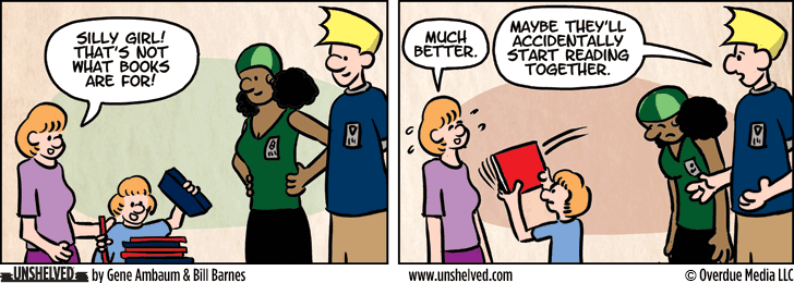 Unshelved comic strip for 7/29/2015