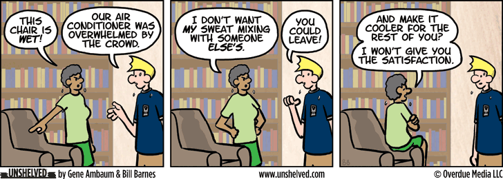 Unshelved comic strip for 7/30/2015