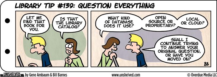 Unshelved comic strip for 8/5/2015