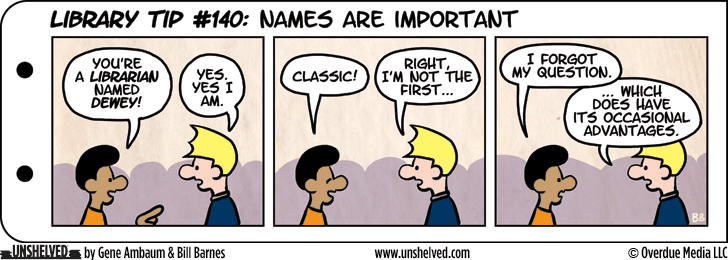Unshelved comic strip for 8/6/2015
