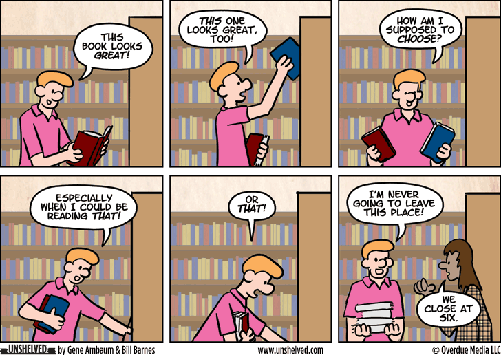 Unshelved comic strip for 8/10/2015