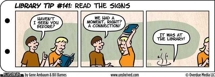 Unshelved comic strip for 8/11/2015