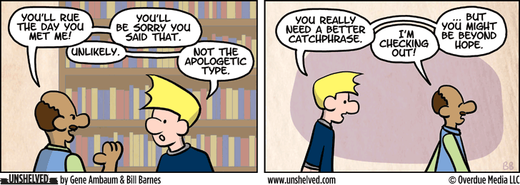 Unshelved comic strip for 8/17/2015