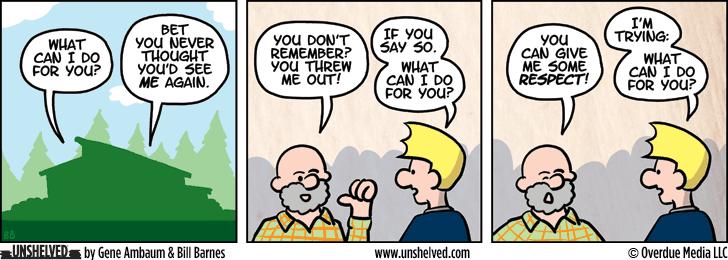 Unshelved comic strip for 8/24/2015