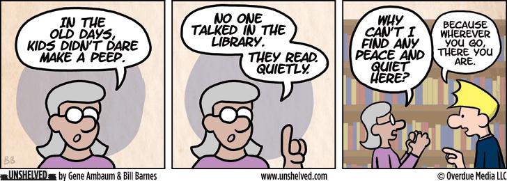 Unshelved comic strip for 9/1/2015