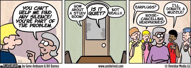 Unshelved comic strip for 9/2/2015