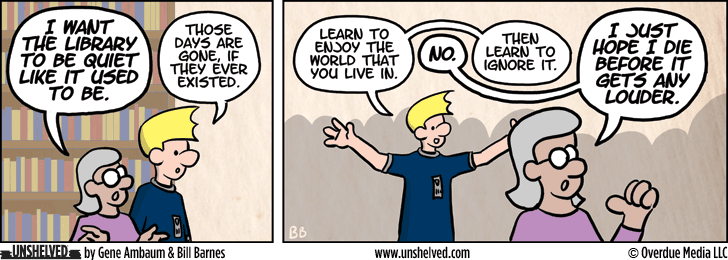 Unshelved comic strip for 9/3/2015