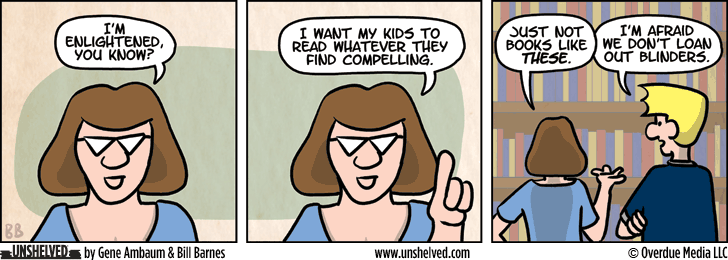Unshelved comic strip for 9/7/2015