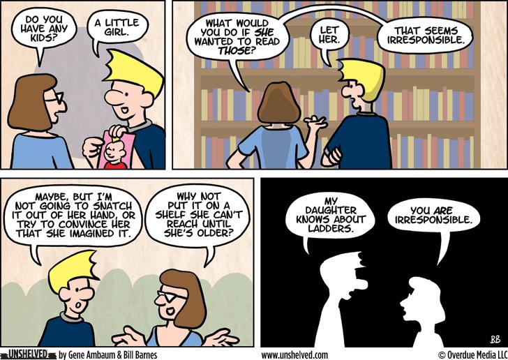 Unshelved comic strip for 9/8/2015