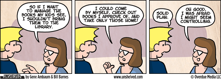 Unshelved comic strip for 9/9/2015