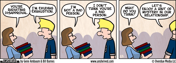 Unshelved comic strip for 9/10/2015